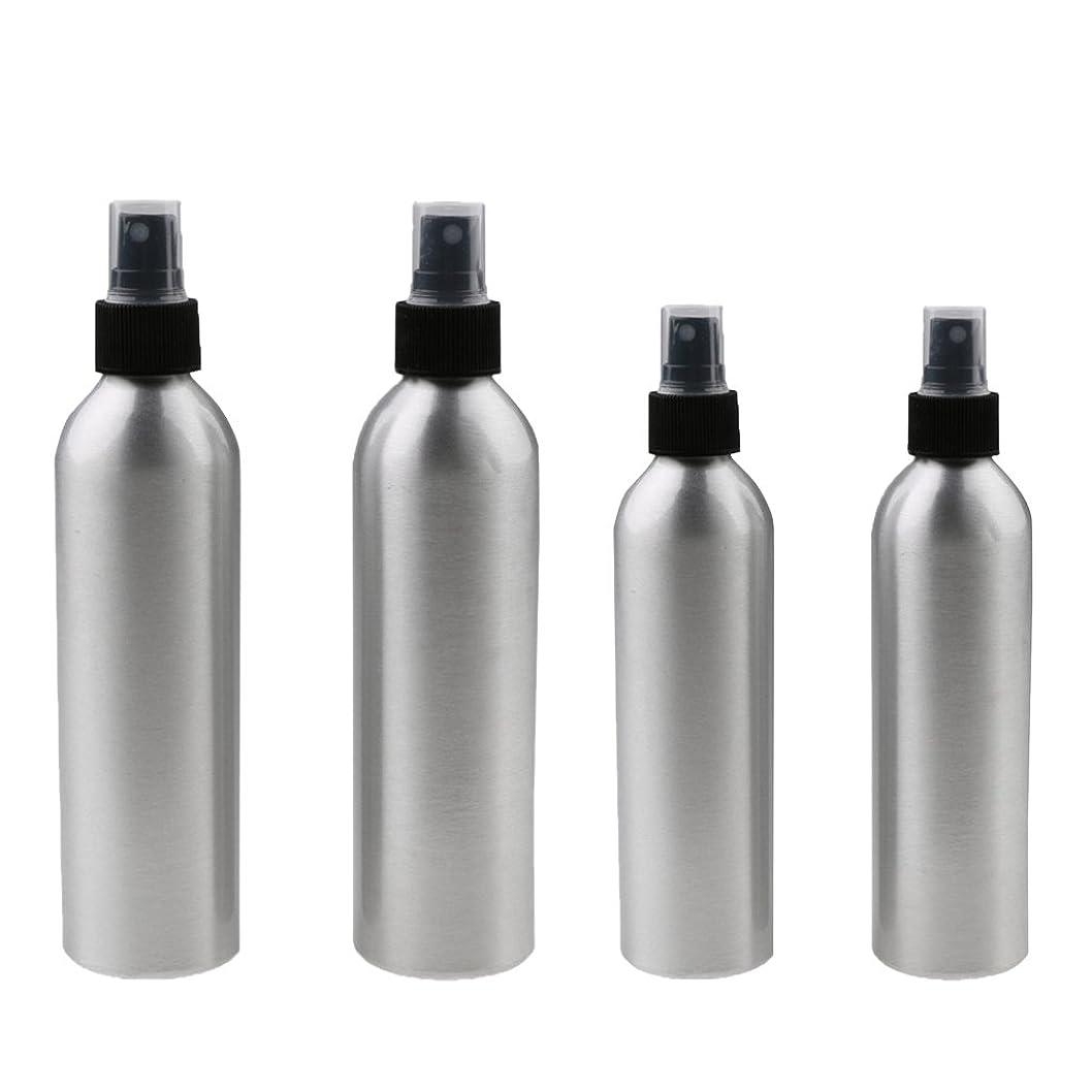 プロフェッショナル不適切な登場Kesoto 4本入り スプレーボトル 100mlと150ml各2本 アルミミスト スプレー 香水 ボトル スプレーアトマイザー