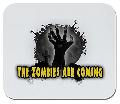 Makoroni - The Zombies are Coming - Non-Slip Rubber Gaming Office Mousepad, g52
