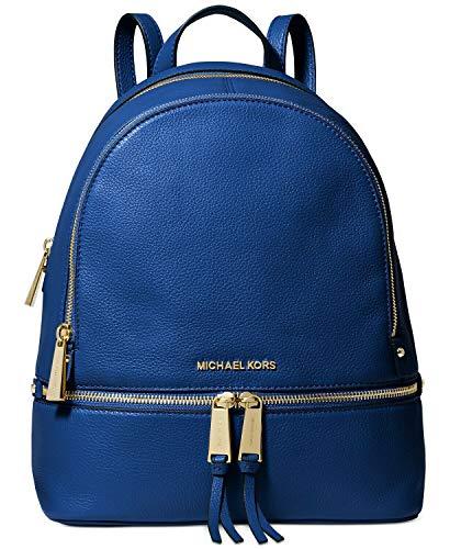 Michael Kors Rhea Rucksack, Vintage Blue, 24,9 cm Breite x 31,4 cm Höhe x 12,7 cm Tiefe (mittel)