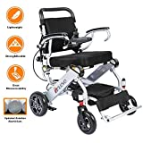 Innuovo N5513A Lightweight Fodable Power Compact Carry Motorized Electric Wheelchairs Chair 50lbs