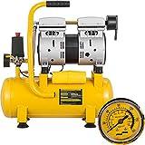 Mophorn Compresor de Aire Compresor sin Aceite de...