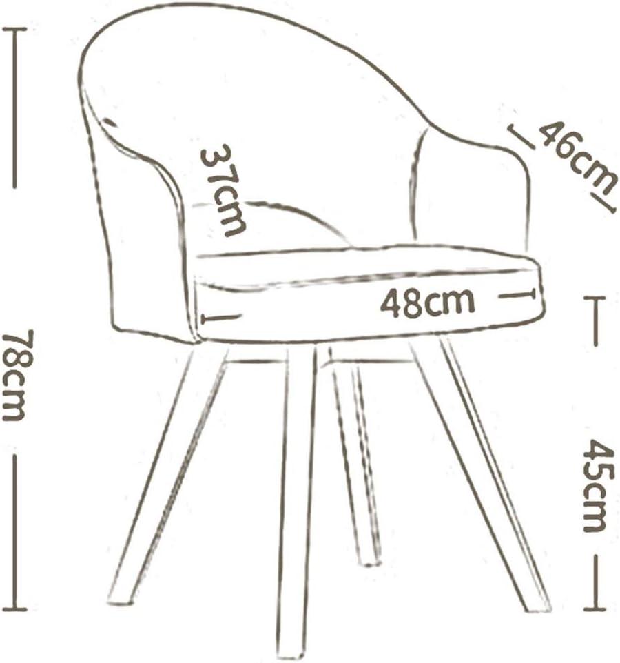 DALL Chaises De Salle À Manger Le Salon Canapés Loisirs Jambes De Bois Linge Couverture Meuble Moderne Chaise De Table Facile À Assembler (Color : Green) Blue