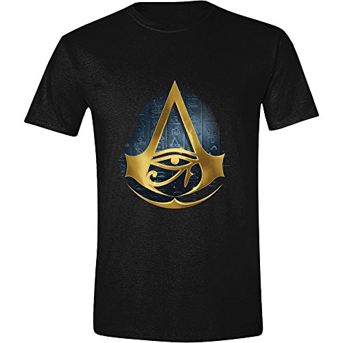 Assassin's Creed: Origins - Eye of Osiris Uomini Maglietta - Nero, Taille:M