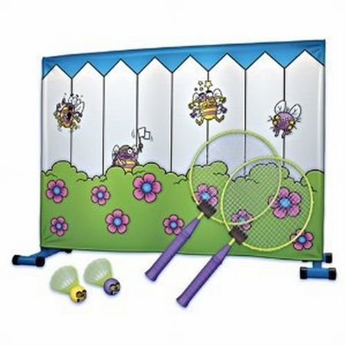 Giant Tree House Buzzy Badminton Tennis Fly Swattin Game In or Out