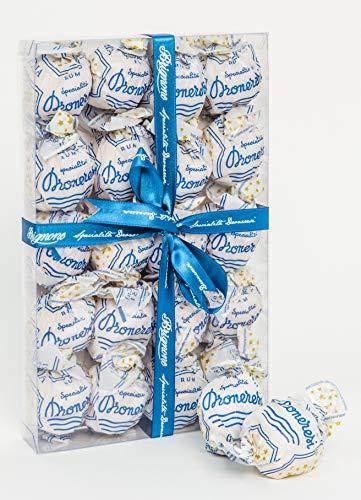 Droneresi - Cioccolatini Unici - Praline Meringhette Farcite di Cioccolato Biologico e Rhum Originale