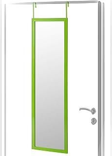 Espejo de Puerta Verde de plástico Moderno para Dormitorio
