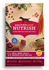 Contains (1) 40 Pound Bag of Dry Dog Food U.S. farm-raised beef is the #1 ingredient Natural prebiotics help support healthy digestion No artificial flavors or artificial preservatives No poultry by-product meal, filler, wheat, or wheat gluten ingred...