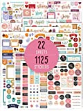 Aesthetic Monthly Planner Stickers - 1100+ Beautiful Design Accessories Enhance and Simplify Your Planner, Journal and Calendar