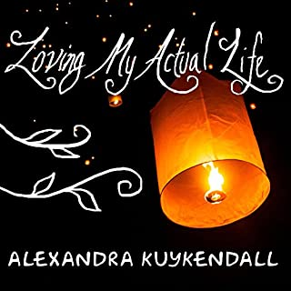 Loving My Actual Life audiobook cover art