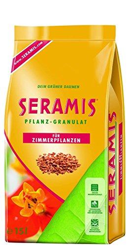 Seramis Ton-Granulat als Pflanzenerden-Ersatz für Zimmerpflanzen, Grün-, Blühpflanzen und Kräuter, Pflanz-Granulat, Ton-Farbe, 15 Liter
