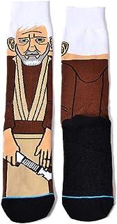 Muilek Geometric Cartoon Pattern Cotton Long Novelty Colorful Funny Crew Socks