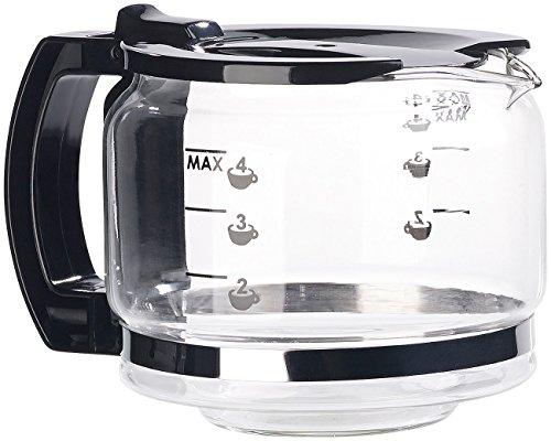 Rosenstein & Söhne Zubehör zu Kaffee-Vollautomat: Ersatz-Kanne für vollautomatische Design-Kaffeemaschine KF-506 (Kaffeemaschine mit Dauerfilter)