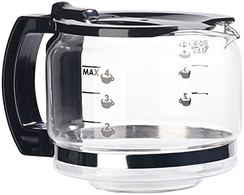 Rosenstein & Söhne Zubehör zu Moderne Kaffeemaschine: Ersatz-Kanne für vollautomatische Design-Kaffeemaschine KF-506 (Kaffeemaschine mit Kaffeemühlen)