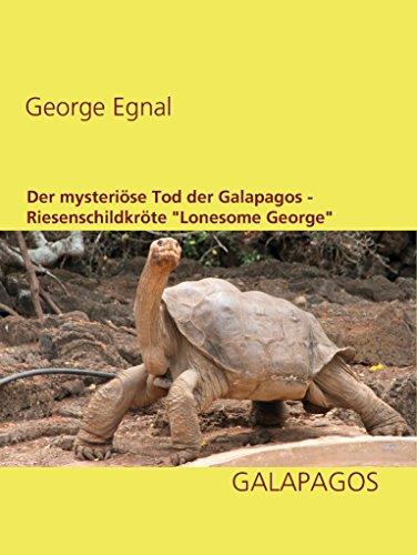 Der mysteriöse Tod der Galapagos-Riesenschildkröte