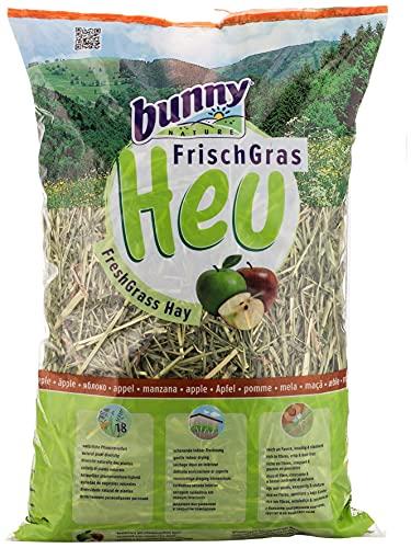 Bunny - Heno Fresco para roedores Adultos Manzana 500 gr