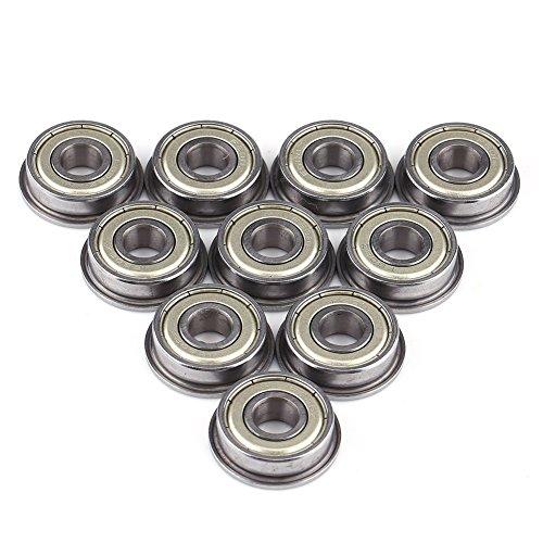 10pcs F608ZZ Mini rodamiento bolas doble blindaje