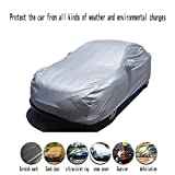 z-snowman Car Cover Waterproof All Weather for Automobiles, Universal Fit for Sedan (2047859 inches)