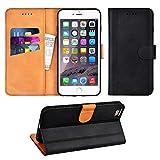 Adicase iPhone 6 Plus Hülle Leder Wallet Tasche Flip Case