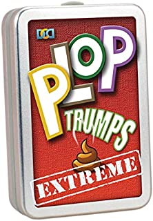 Cheatwell 12582 Plop Trumps Extreme Card Game