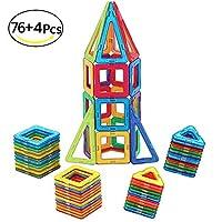 ✿ IMPARARE GIOCANDO : ✿McDou il giocattolo magnetico è esattamente quello per le persone di tutte le età. Quando sei felice di costruire blocchi, puoi sentire pienamente l'immaginazione e le capacità di progettazione architettonica e non stancarti ma...