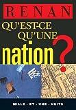 Qu'est-ce qu'une nation ? (La Petite Collection t. 178) - Format Kindle - 1,49 €