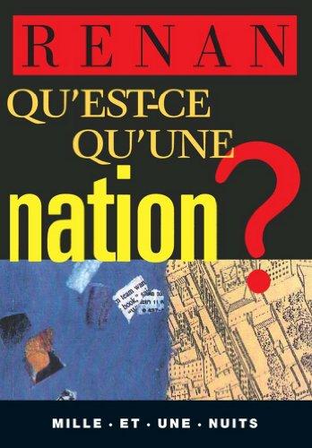 Qu'est-ce qu'une nation ? (La Petite Collection t. 178)