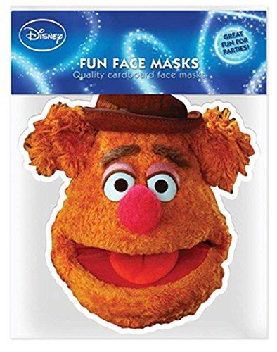 empireposter Muppets Fozzy Bear – Masque en Carton Brillant Haute qualité en Carton avec Trous pour Les Yeux et élastique 30 x 20 CM