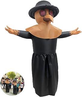 Achort - Costume gonfiabile, da dottore della pesta, per travestimento, per Halloween, Cosplay, travestimento per Hallowee...