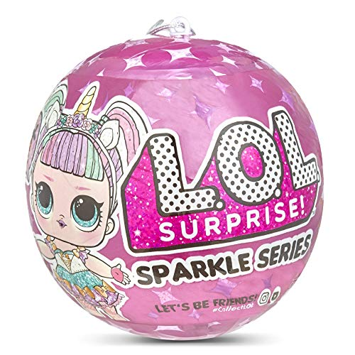 L.O.L Surprise! - LOL Sparkle con Sorprese e Accessori - Giochi Preziosi, LLU77000 [Versione Italiana]