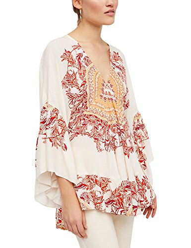 Free People Women's Sunset Dreams Printed Tunic Sand XS