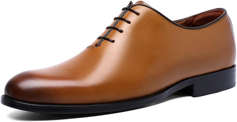 DESAI Mens Business shoes Lace up Oxfords