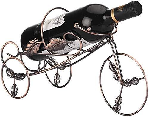 JIAHE115 Wijnrek Moederdag ter gelegenheid van de verhuizing, thuis en op kantoor het maken van flessenrekken, wijnrekken, met de hand smeedijzeren wijnrek