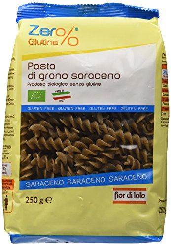 Zer% Glutine Fusilli di Grano Saraceno, 250g