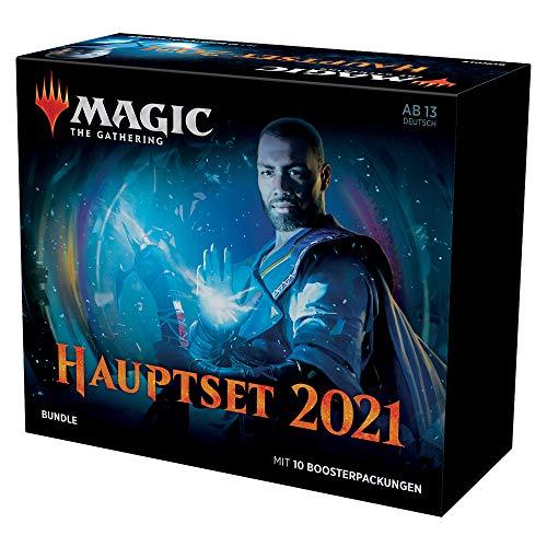 Magic: The Gathering Hauptset 2021 Bundle 10 Boosterpackungen & Zubehör (Deutsch Version)