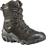 Oboz Bridger 10' Insulated B-Dry Hiking Boot - Men's Midnight Black 10.5 Wide