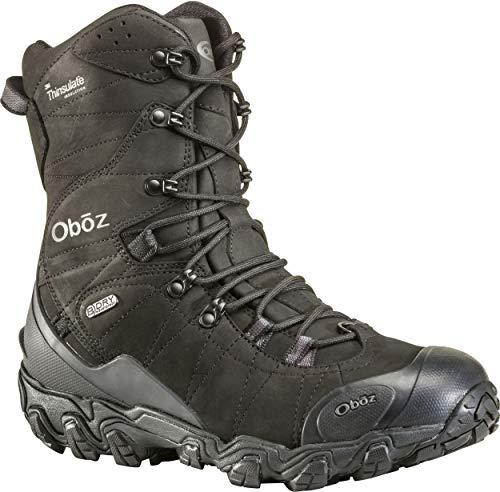Oboz Mens Bridger 10 Insulated B Dry Waterproof Hiking Boots