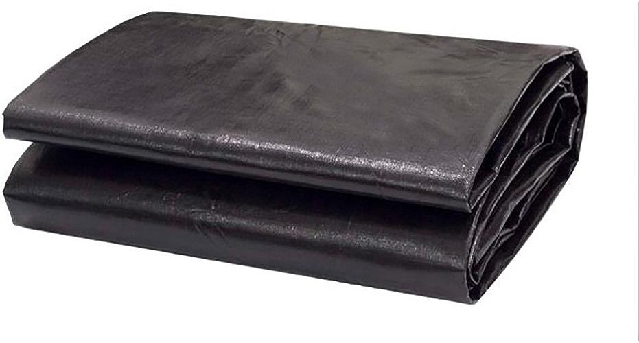 YAN FEI Bache Imperméable Lourde Bache épaisse Noire de bache de Parasol 180 g   m2 de bache de Prougeection en Plastique de bache épaisse Noire de Prougeection Solaire de bache de Camion (Taille   6X6m)