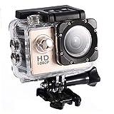 FastUU Mini cámara de acción, 7 Colores 1080P HD 30m Cámara...