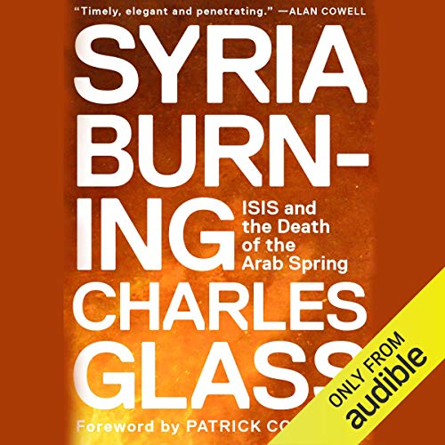 Syria Burning audiobook cover art