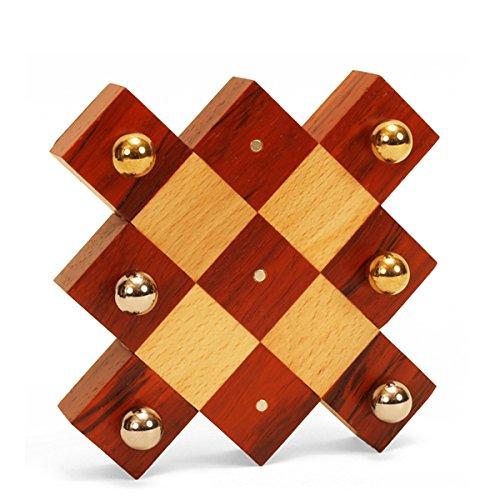 Spiele der Antike–Brettspiel, Holz Schläger Rot (Games Pico Pao 187)