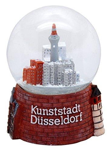 Souvenir Schneekugel Kunststadt Düsseldorf - 30001