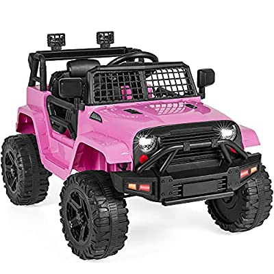 Pink Truck Car w/Parent Remote Control