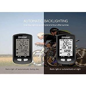 Ciclocomputadores GPS ANT+ Función iGPSPORT iGS10 Ordenador inalámbrico bicicleta Ciclismo Cuentakilometros bici