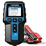 Car Battery Tester 12V 24V Load Tester, TOPDON BT200 100-2000CCA Automotive Alternator Tester Digital Auto Battery Analyzer Charging Cranking System Tester for Car Truck Motorcycle ATV SUV Boat Yacht