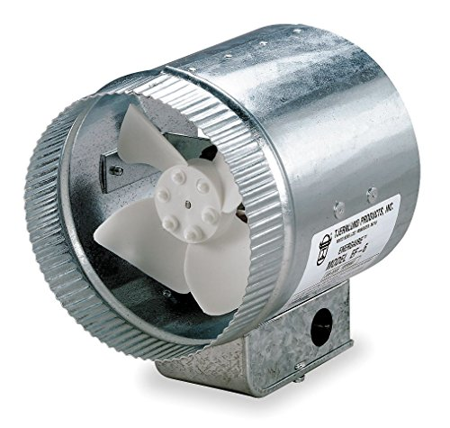 Tjernlund EF-10 Duct Booster Fan, 475 CFM, 10'