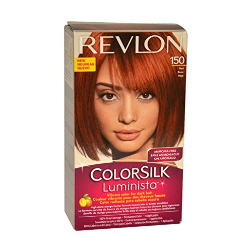 Revlon Colorsilk Luminista Haircolor, Red, 1 Count