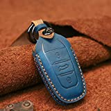 Leather Smart Car Key Fob Case Cover for Peugeot 208 308 508 3008 5008 for Citroen C4 Picasso Ds3 Ds4 Ds5 Ds6