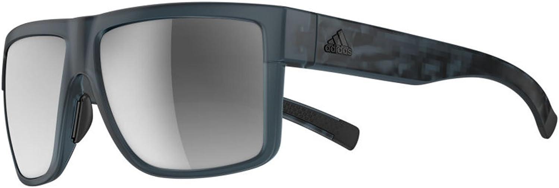 Adidas a427 6068 bluee Matte 3Matic Square Sunglasses Lens Category 3 Lens Mirro