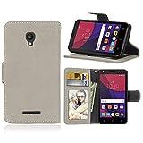 ShuiSu Flip Cover Hülle für Alcatel One Touch Pixi First