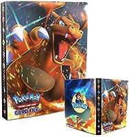 Classeur pour Pokemon,Porte Carte Pokemon, Livre Carte Pokemon, Pokemon Cartes Album Pokémon Commerce Cartes GX EX...